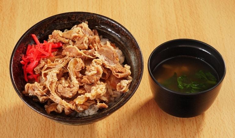 牛丼 650円